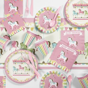 Carousel Baby Shower Kit