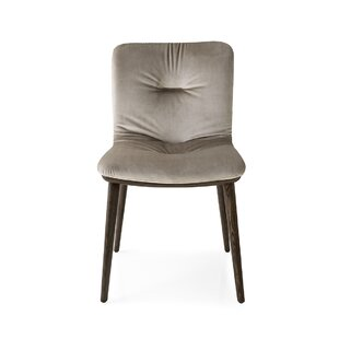 Read Reviews Annie Soft - Upholstered Wooden Chair by Calligaris Reviews (2019) & Buyer's Guide
