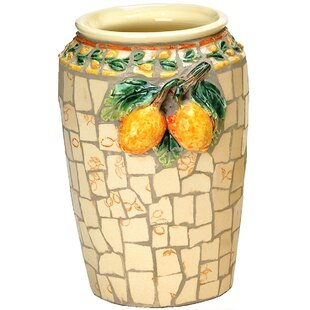 Kayla Mosaic Round Ceramic Table Vase