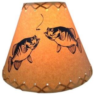 Double Crappie 14 Paper Empire Lamp Shade