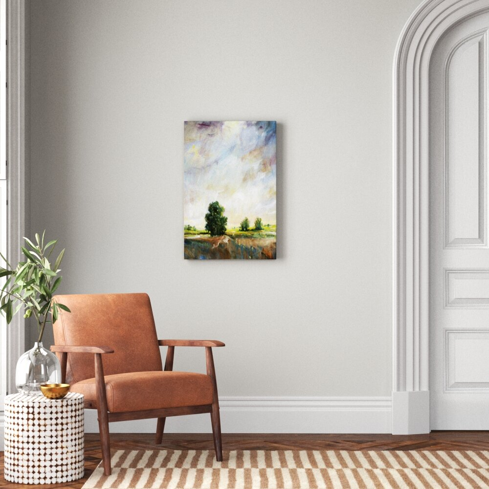 Amber Glow I By Tim O Toole Wrapped Canvas Painting Print Joss Main