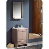 Allier 24 Single Bathroom Vanity Set with Mirror by Fresca