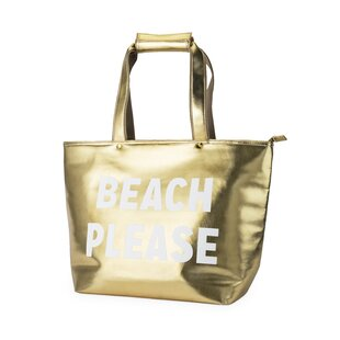 Beach Please Insulated Wine Carrier