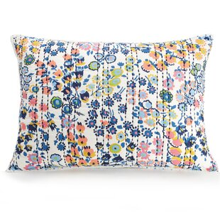 Petite Floral Quilted Sham