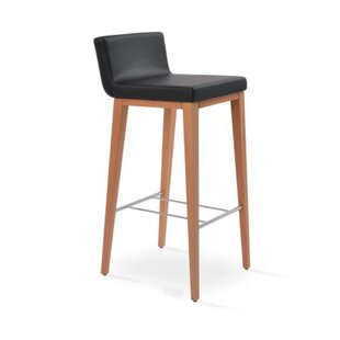 Harlowe Wood 24 Bar Stool