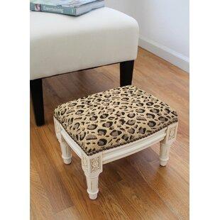 Leopard Ottoman Wayfair