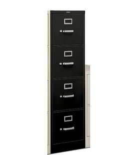 H320 Series 18.25W 4-Drawer Legal File