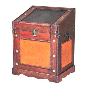 Old Style Desk Podium Chest by Quickway Imports