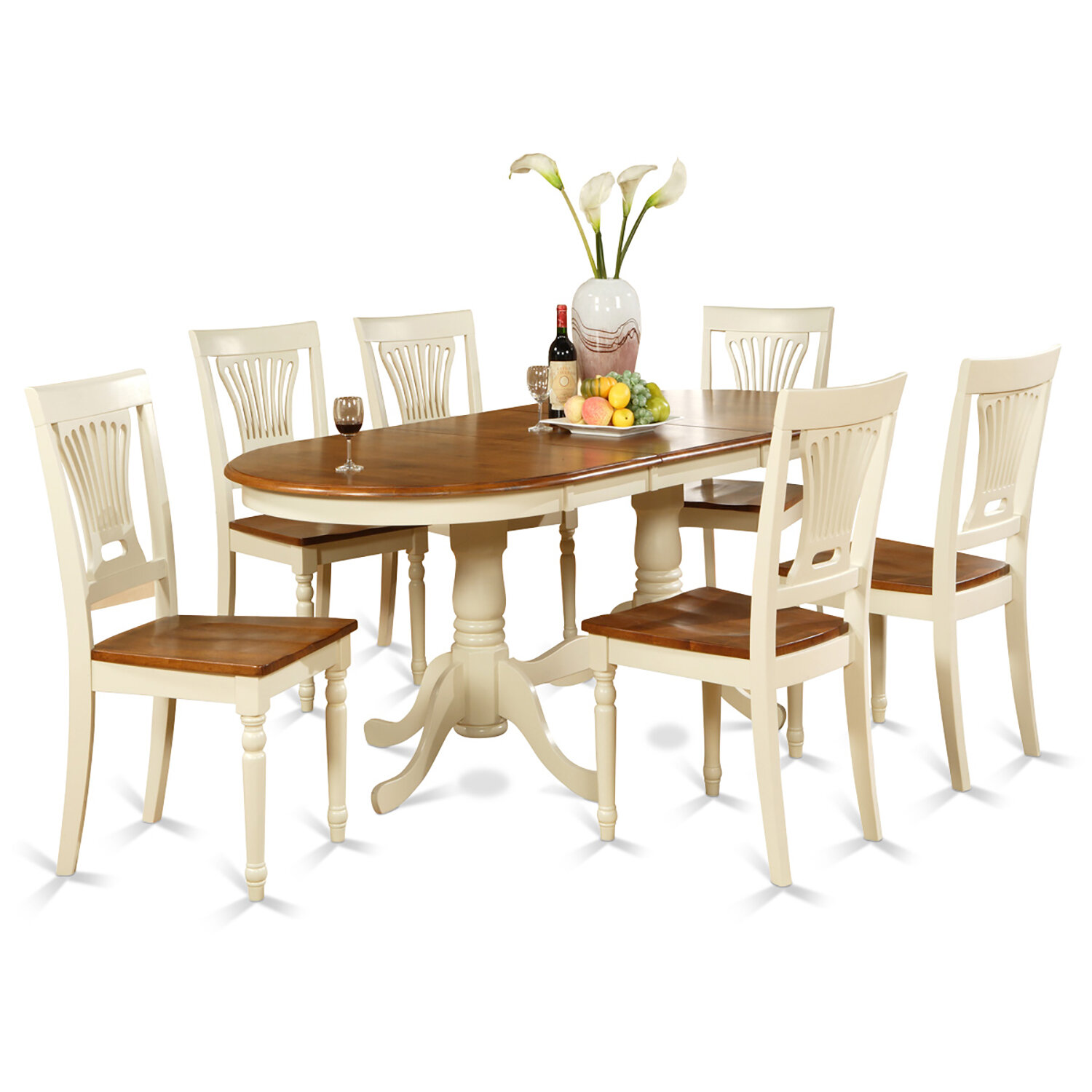 0dc518eee9f19 Darby Home Co Germantown 7 Piece Extendable Dining Set   Reviews ...