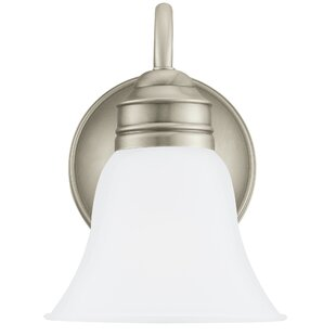 Compare & Buy Burkes 1-Light Bath Sconce By Darby Home Co
