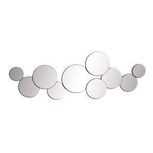 miranda mirrored circles wall dcor