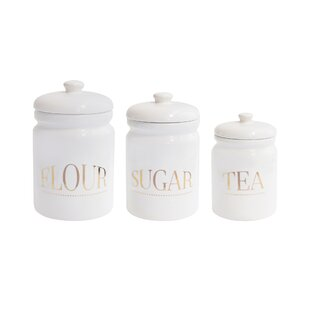 Pantry 3 Piece Kitchen Canister Set