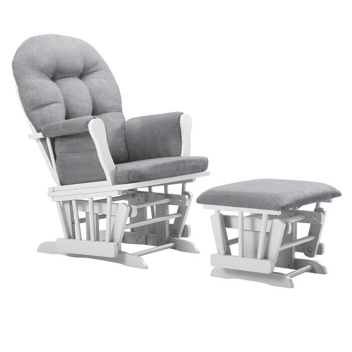 Groovy Essex Glider And Ottoman Squirreltailoven Fun Painted Chair Ideas Images Squirreltailovenorg
