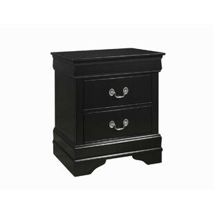Shept Mallet 2 Drawer Nightstand