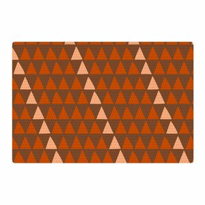 Matt Eklund Overload Autumn Brown/Orange Area Rug