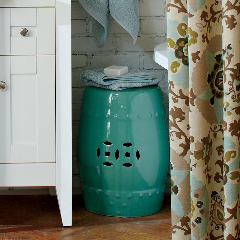 Superieur Glazed Ceramic Garden Stool