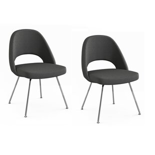 Best Reviews Port Chester Upholstered Dining Chair (Set of 2) by Orren Ellis Reviews (2019) & Buyer's Guide
