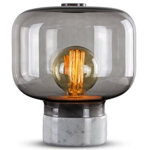 Affordable Price Adella Marble 11 Table Lamp By Ivy Bronx