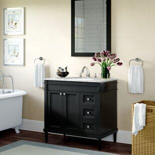 Millfield 37 inch  Single Bathroom Vanity Set with Mirror