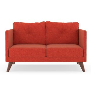 Compare Covey Cross Weave Loveseat by Corrigan Studio Reviews (2019) & Buyer's Guide