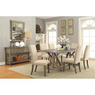 Charlot 7 Piece Dining Set Gracie Oaks