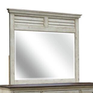 Wilfred Shutter Rectangular Dresser Mirror