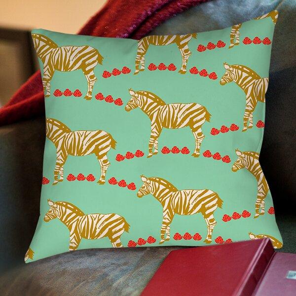 Zebra Print Pillows Wayfair Ca