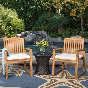Erondelle 3 Piece Conversation Set with Cushions
