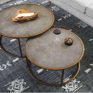 Demarcus 2 Piece Coffee Table Set