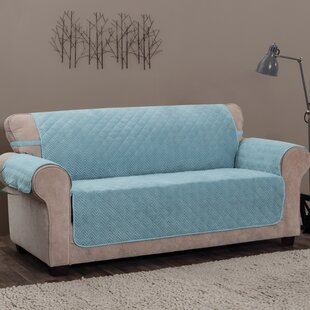 Logan with Straps T-Cushion Sofa Slipcover