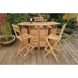 Bourke Teak 3 Piece Bar Set