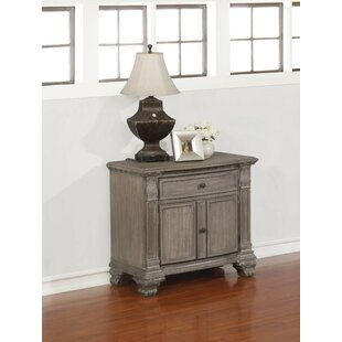 Garrity 1 Drawer Nightstand by Astoria Grand