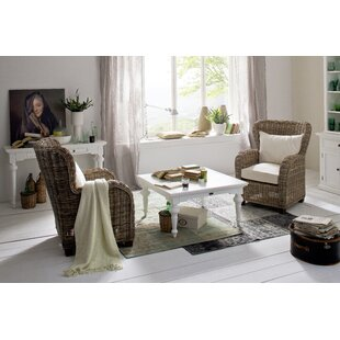 Winthrop 2 Piece Coffee Table Set Rosecliff Heights