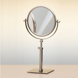 Price comparison Wall Mounted Double Face Pedestal Magnifying Mirror ByWindisch by Nameeks