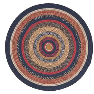 Lilian Blue/Red Area Rug by August Grove