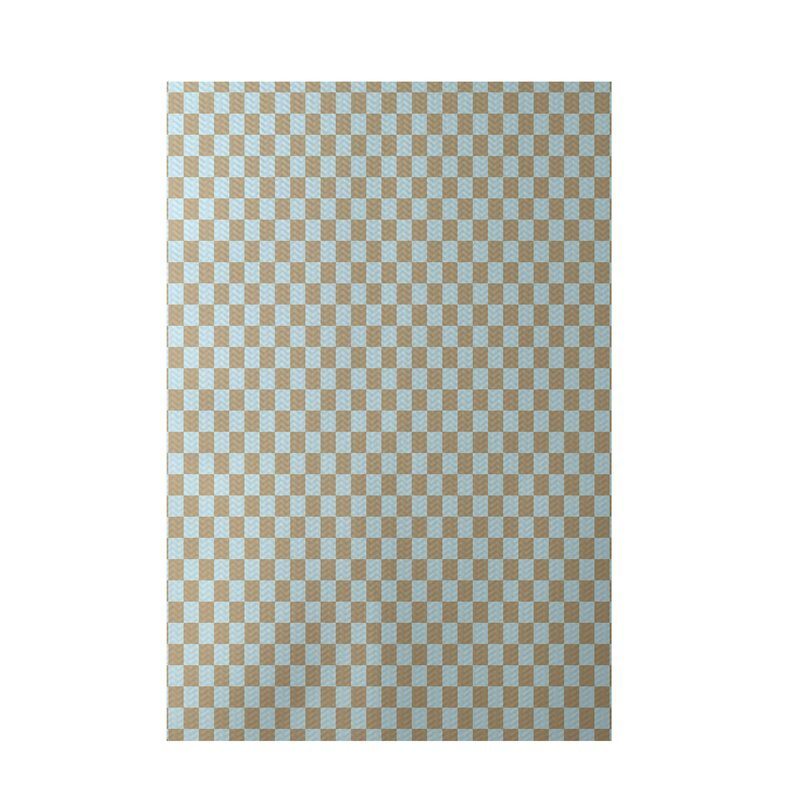 E By Design Flatweave Beige Blue Area Rug Wayfair