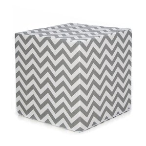 Swizzle Decorative Pouf Ottoman by Sweet Potato by Glenna Jean