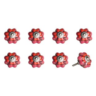 Handpainted Ceramic Novelty Knob (Set of 8)
