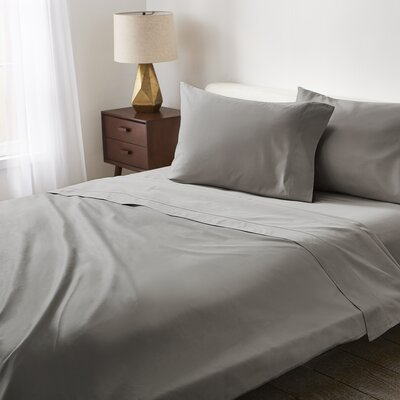 Sateen 550 Thread Count 100% Cotton Sheet Set Scott Living