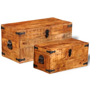2 Piece Trunk Set by Millwood Pines