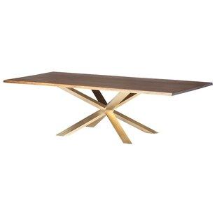 Boler Wood Top Dining Table by Orren Ellis Design