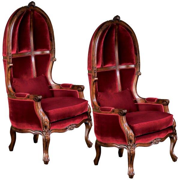Design Toscano Victorian Balloon Chair | Wayfair