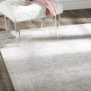 Becontree Gray/Lavender Area Rug