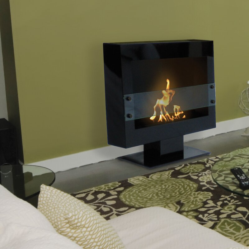 Anywhere Fireplace Tribeca Free Standing Bio-Ethanol Fireplace ...
