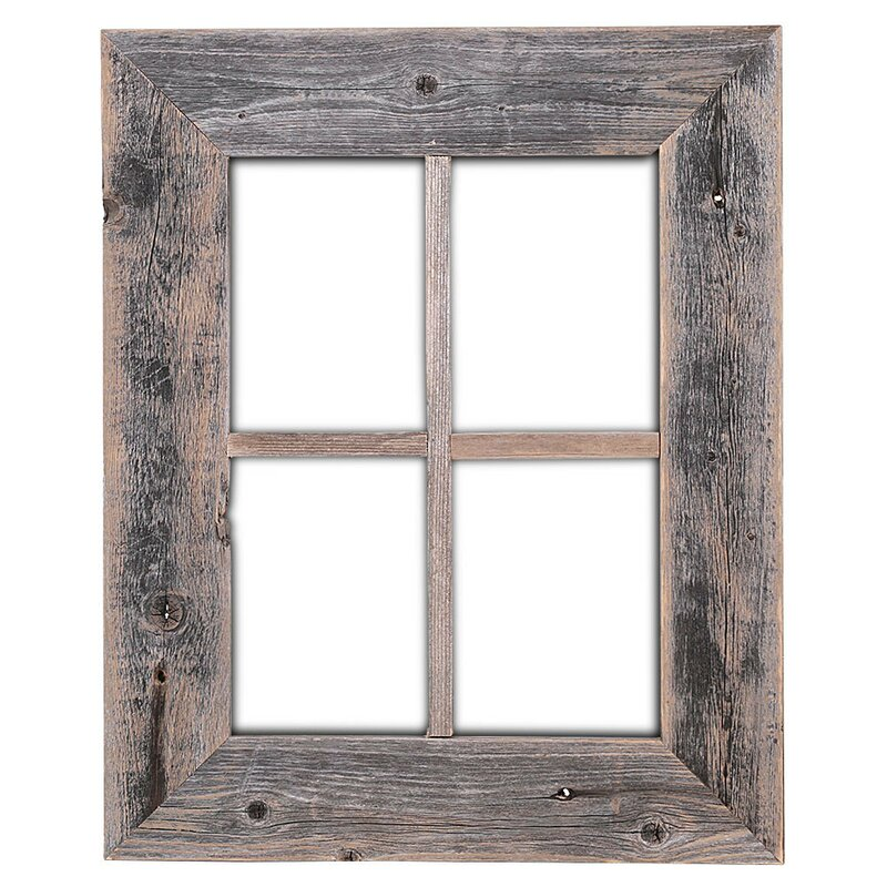 Union Rustic Old Rustic Barn Window Frame & Reviews | Wayfair