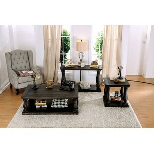 Blackfriars 3 Piece Coffee Table Set Canora Grey