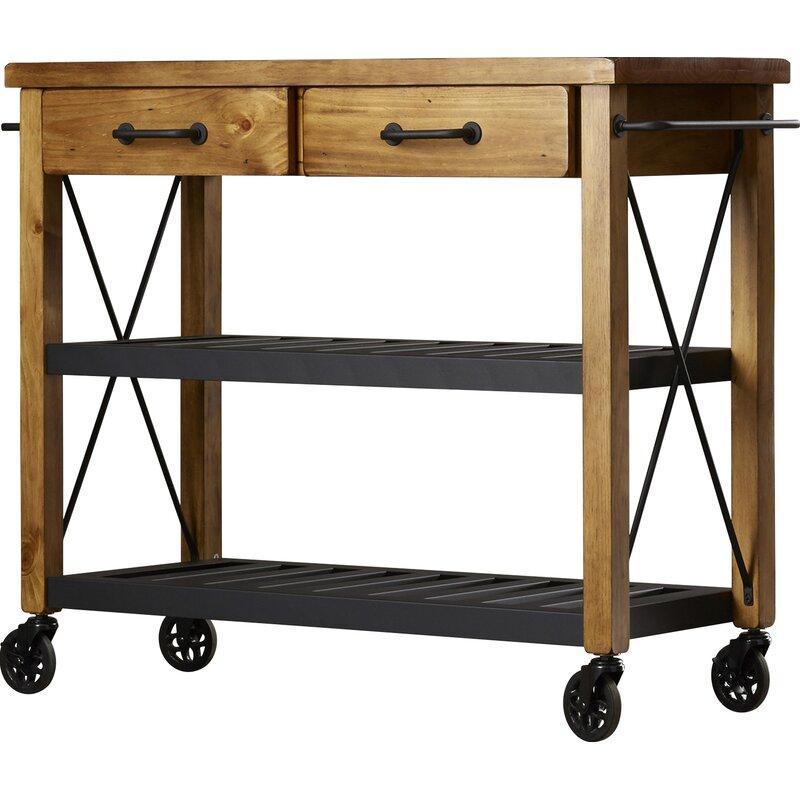 Trent Austin Design Chamberlin Kitchen Cart & Reviews ...