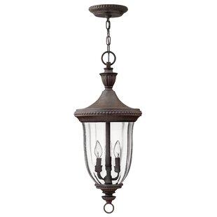 Price comparison Diaw 3-Light Outdoor Pendant By Astoria Grand