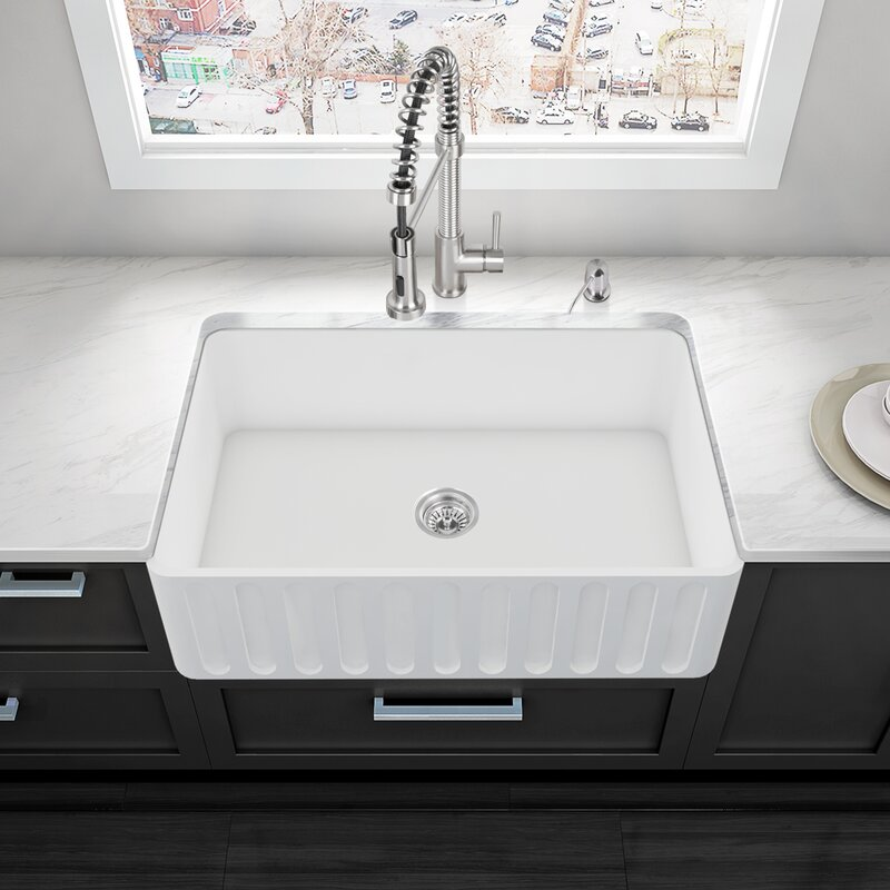 33 X 18 Farmhouse Kitchen Sink