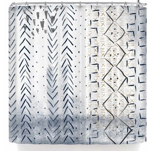 Pellerina Design African Mudcloth Single Shower Curtain